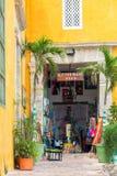 Kleine Winkel in Cartagena stock afbeelding