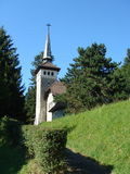 Kleine witte kerk royalty-vrije stock foto's