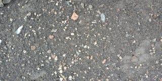 Kleine witte steen op het weg geweven behang achtergrondaard als achtergrond, royalty-vrije stock foto