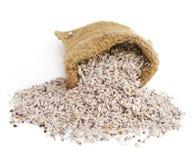 Kleine zak rijst Stock Afbeelding