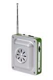 Kleine zakradio met een antenne Royalty-vrije Stock Foto's
