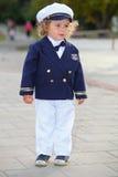 Kleine zeeman royalty-vrije stock afbeelding