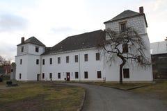 kleine Zitadelle in Vidnava-Stadt stockbilder