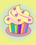 Kleine zoete cake Stock Foto's