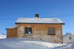 Kleinen Lofotens Haus Lizenzfreies Stockbild