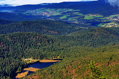 Kleiner Arber (German for Small Arber, Czech: Velký Javor) is the highest peak of the Bavarian-Bohemian-mountain ridge, Germany. A picture of the Small Arber stock photo