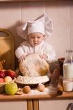 Kleiner Bäcker Lizenzfreie Stockfotos