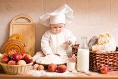 Kleiner Bäcker Lizenzfreies Stockfoto