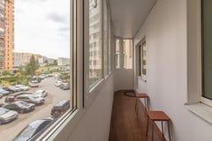 Kleiner Balkoninnenraum lizenzfreies stockfoto