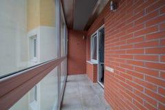 Kleiner Balkoninnenraum lizenzfreie stockfotografie