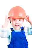 Little construction worker Stock Photos