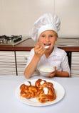 Kleiner Bäcker Stockfotografie