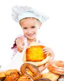 kleiner Bäcker Lizenzfreie Stockbilder