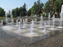 Kleiner Brunnen Stockbild