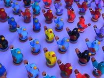 Kleiner Clay Whistles Stockbilder