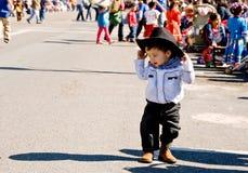 Kleiner Cowboy Lizenzfreies Stockfoto