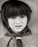Kleiner Cowboy lizenzfreies stockbild