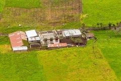 Kleiner ekuadorianischer Bauernhof Lizenzfreie Stockbilder