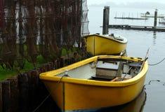 Kleiner Fischereihafen Stockbild