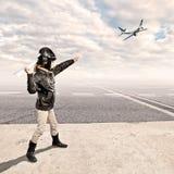 Kleiner Flieger stockfotografie