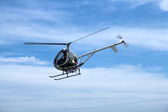 Kleiner Fluggasthubschrauber Lizenzfreie Stockfotografie