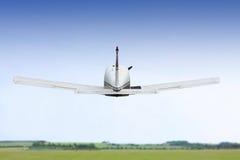 Kleiner Flugzeugstart Stockfotos