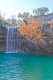Kleiner Fluss bei Hamilton Pool Lizenzfreie Stockfotos