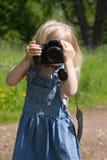 Kleiner Fotograf Stockbilder