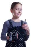 Kleiner Fotograf Stockbild