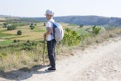 Kleiner Fußtourist Lizenzfreie Stockbilder