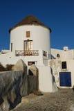 Kleiner griechischer Kontrollturm Stockbilder