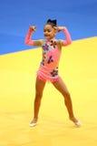 Kleiner Gymnast Stockfotografie