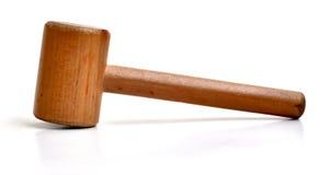 Kleiner hölzerner Holzhammer stockbilder