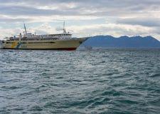 Kleiner Hafen in Aegina-Insel Lizenzfreies Stockfoto