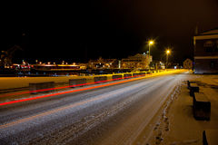 Kleiner Hafen in Visby sweden.JH Stockbilder