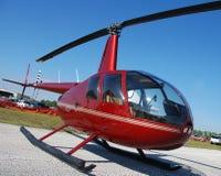 Kleiner Hubschrauber Stockbild