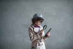 Kleiner Inspektor lizenzfreie stockfotografie