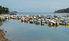 Kleiner Jachthafen Stockfoto