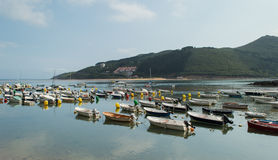 Kleiner Jachthafen Stockbilder