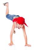 Kleiner Junge im Tanz stockbilder