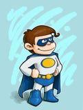 Kleiner Junge Superheld lizenzfreie abbildung