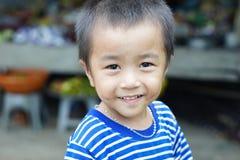 Kleiner Junge, Vietnam stockbilder