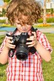 Kleiner Kinderphotograph Lizenzfreie Stockfotografie