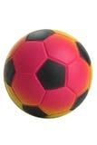 Kleiner Kindfußballaufruf Lizenzfreie Stockbilder