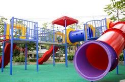 Kleiner Kindspielplatz Stockbilder