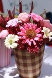 Kleiner Korb der Blume Lizenzfreie Stockbilder