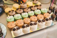 Kleiner Kuchen, Kuchen Stockfoto