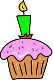 Kleiner Kuchen lizenzfreie abbildung