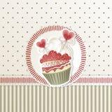 Kleiner Kuchen des Valentinsgrußes vektor abbildung