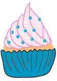 Kleiner Kuchen mit Süßigkeit Stockfotografie
